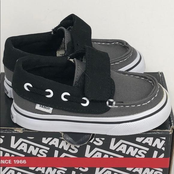 Del Shoe ShoesZapato Poshmark Grey Black 55 Sz Vans Boat Barco fyY7gb6